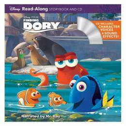 Disney Storybook Art Team Finding Dory (Read-Along Storybook and CD)(Paperback)