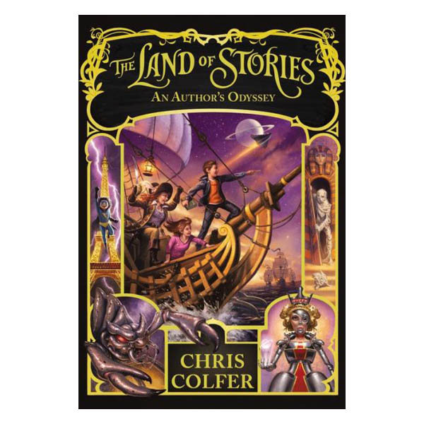 Chris Colfer An Author's Odyssey (The Land of Stories Series #5) (Hardcover)