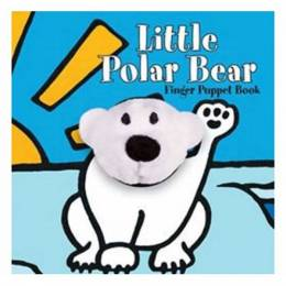 Lenz Mulligan Little Polar Bear: Finger Puppet Book (Board Book)