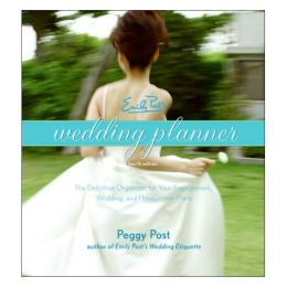 Peggy Post Emily Post's Wedding Planner (Hardcover)