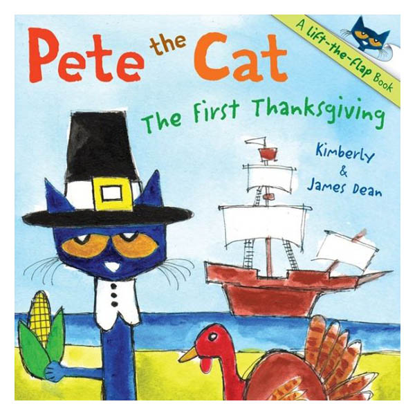 James Dean The First Thanksgiving (Pete the Cat Series) (Paperback)