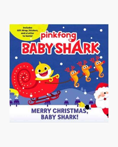 Baby Shark: Merry Christmas, Baby Shark! (Sticker Book)