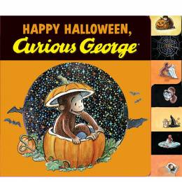 H. A. Rey Happy Halloween, Curious George (Board Book)