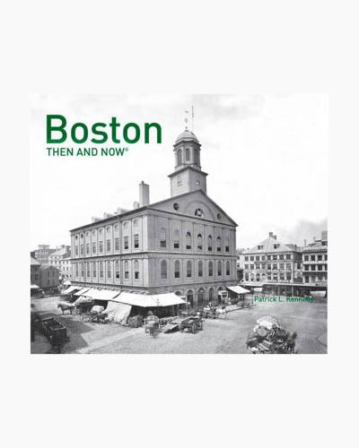 Boston: Then and Now (Hardcover)