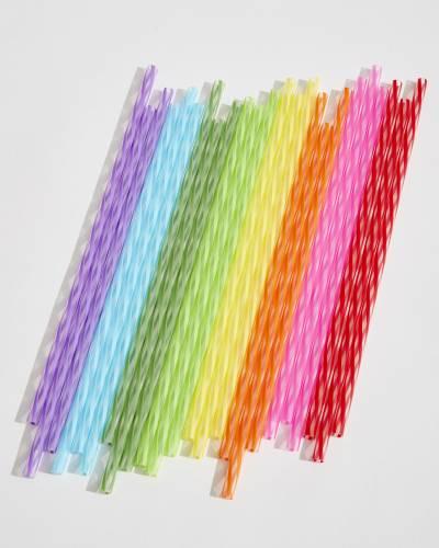 Rainbow Reusable Straws (11-inch)