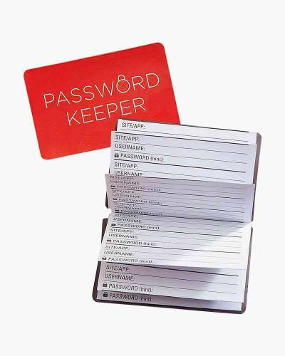 Wallet Size Password Keeper Book