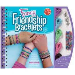 Klutz Fancy Friendship Bracelets Jewelry Craft Book and Kit