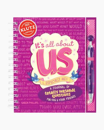 It's all about us (especially me!) Journal