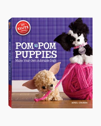 Pom-Pom Puppies Craft Book and Kit
