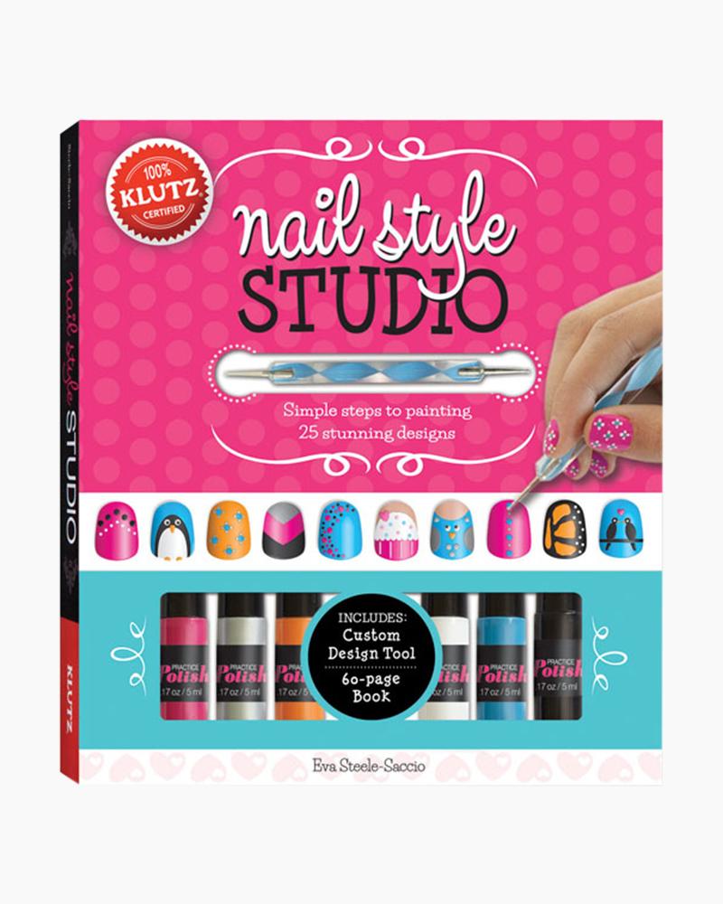 Klutz Nail Style Studio Nail Art Fashion Kit | The Paper Store