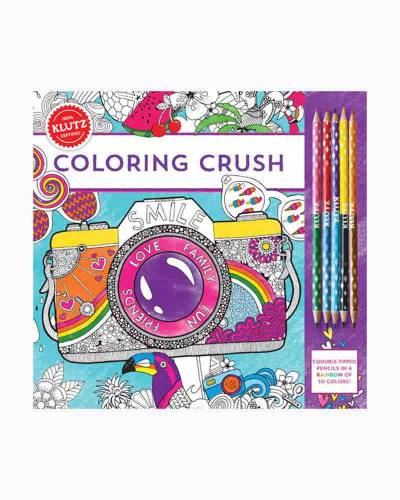 Coloring Crush Coloring Book