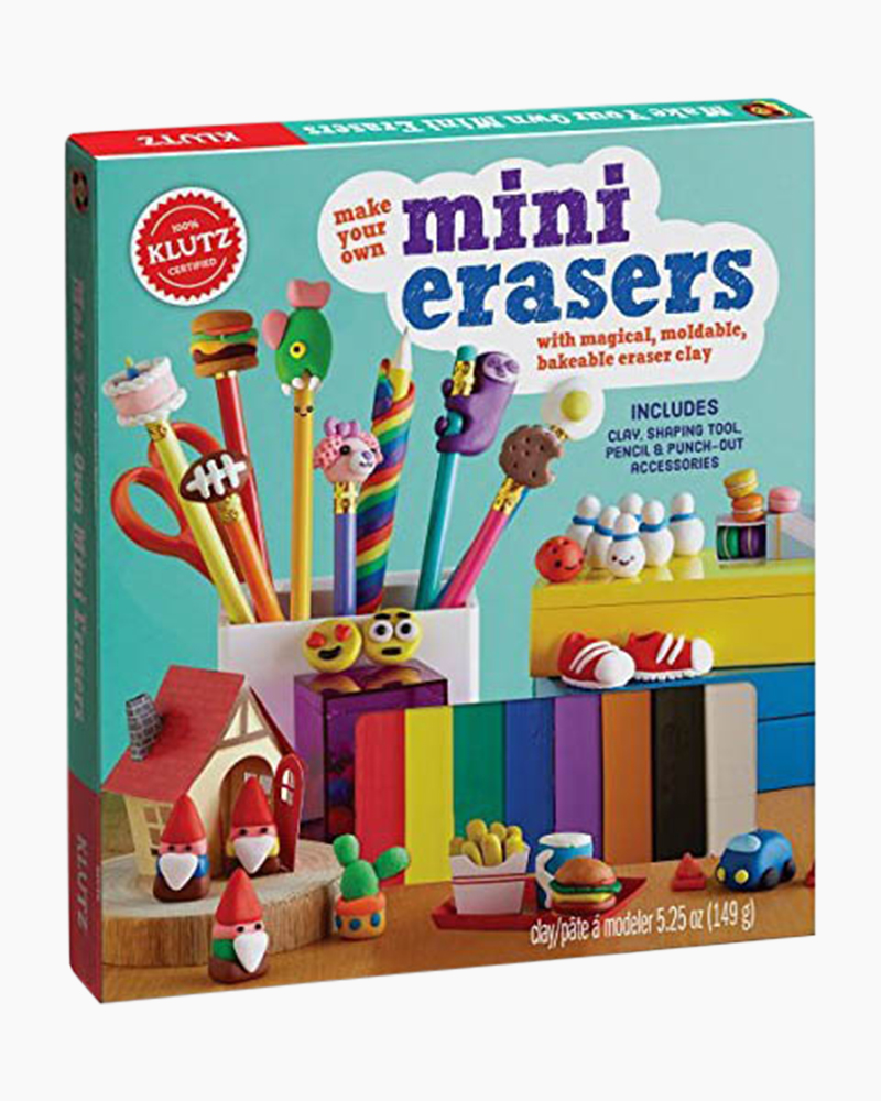 Klutz Make Your Own Mini Erasers Activity Book