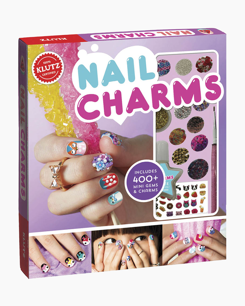 Klutz Nail Charms Activity Book