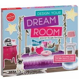 Klutz Design Your Dream Room Activity Book and Kit