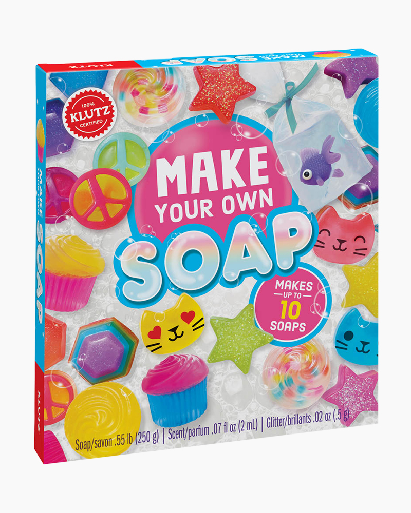 Klutz make your own soap activity kit the paper store for Craft sets for 7 year olds