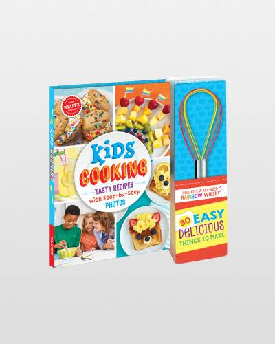 Kids Cooking Activity Book