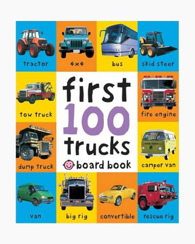 First 100 Soft to Touch Trucks Board Book