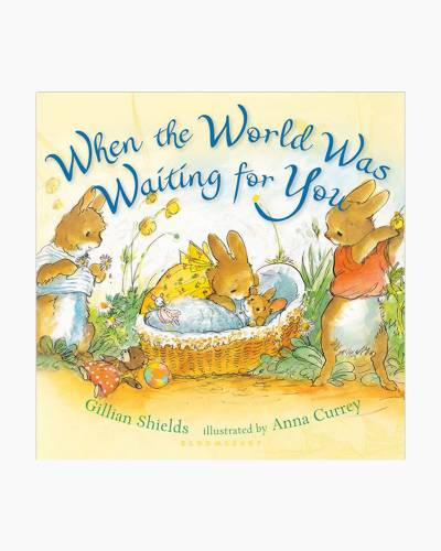 When the World Was Waiting for You Board Book