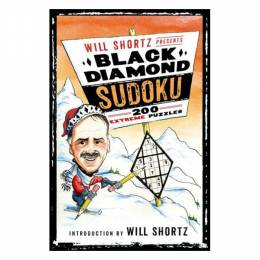 Will Shortz Will Shortz Presents Black Diamond Sudoku: 200 Extreme Puzzles (Paperback)