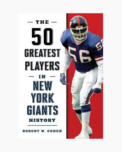 The 50 Greatest Players in New York Giants History (Paperback)