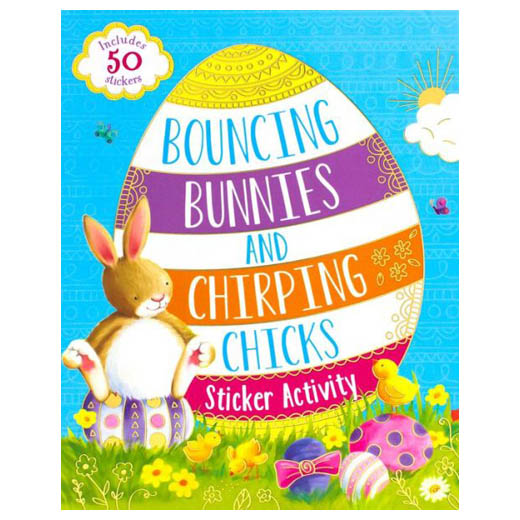 Bouncing Bunnies and Chirping Chicks Sticker Activity Book (Paperback)