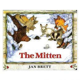 Jan Brett The Mitten (Board Book)