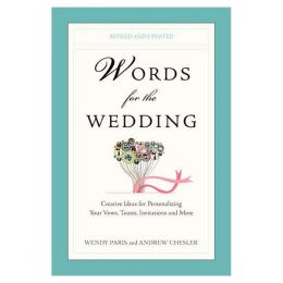 Wendy Paris Words for the Wedding ( Paperback)
