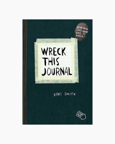 Wreck This Journal (Black) Expanded Ed. (Paperback)