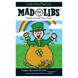 Leonard Stern Luck of the Mad Libs Coloring Book