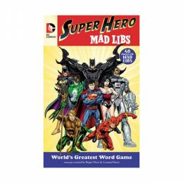 Roger Price Dc Comics Super Hero Mad Libs (Paperback)