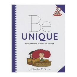 Running Press Book Publishers Peanuts: Be Unique (Hardcover)
