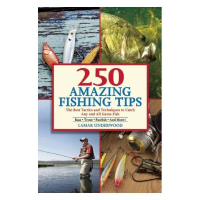 250 Amazing Fishing Tips: The Best Tactics and Techniques to Catch Any and All Game Fish (Paperback)