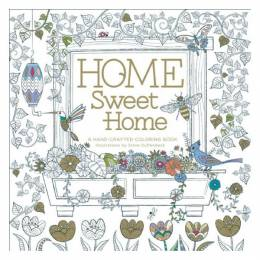 Steve Duffendack Home Sweet Home: A Hand-Crafted Adult Coloring Book