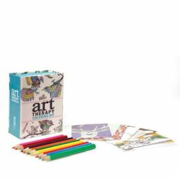 Perseus Publishing Mini Art Therapy Coloring Kit