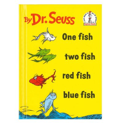 One Fish Two Fish Red Fish Blue Fish (Hardcover)