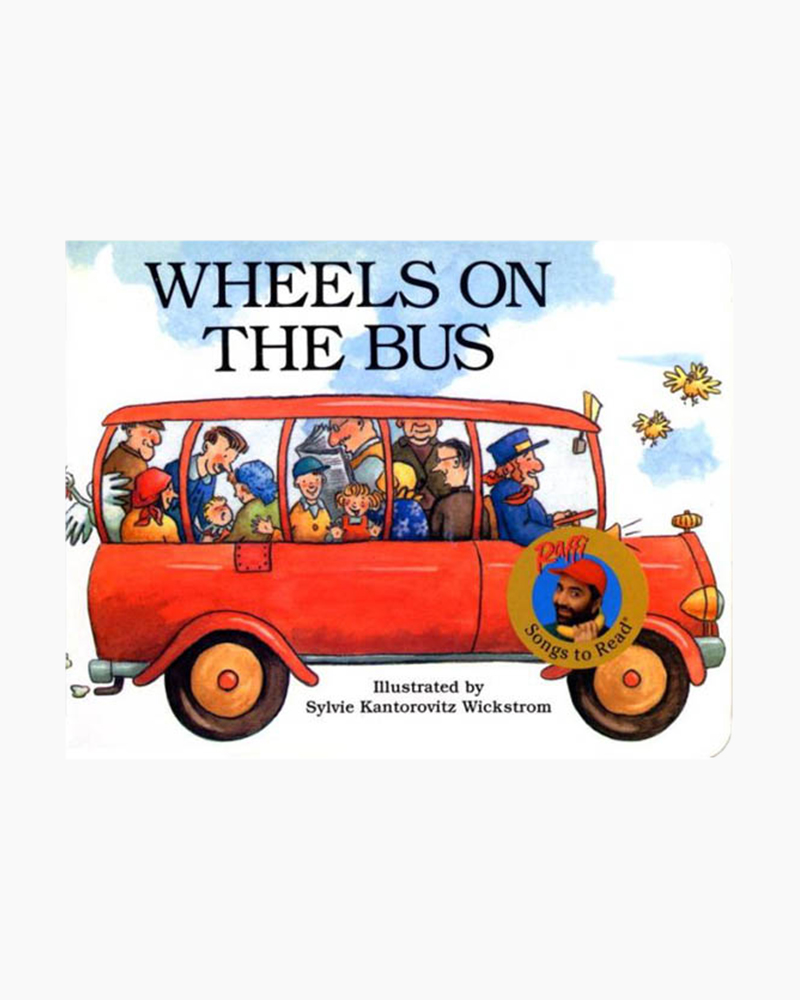Raffi Wheels on the Bus (Board Book)