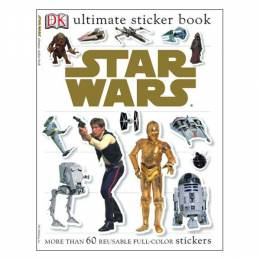DK Publishing Ultimate Sticker Book: Star Wars (Paperback)