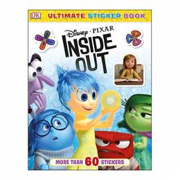 Inside Out Ultimate Sticker Book: Disney Pixar Inside Out (Paperback)