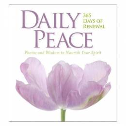 National Geographic Daily Peace: 365 Days of Renewal (Hardcover)