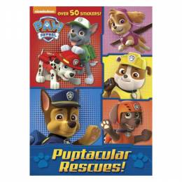 Golden Books Paw Patrol: Puptacular Rescues! (Jumbo coloring Book)