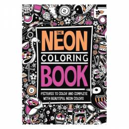 Penguin The Neon Coloring Book (Paperback)