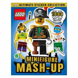 DK Ultimate Sticker Collection: LEGO Minifigure: Mash-up!