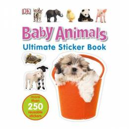 Dorling Kindersley Ultimake Stickers Book: Baby Animals (Paperback)