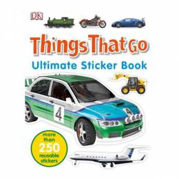 Dorling Kindersley Ultimake Stickers Book: Things That Go (Paperback)
