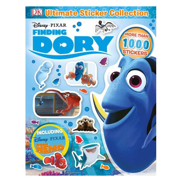 Dorling Kindersley Publishing Staff Ultimate Sticker Collection: Disney Pixar Finding Dory (Paperback)