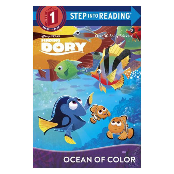 Bill Scollon Ocean of Color (Disney/Pixar Finding Dory) (Paperback)