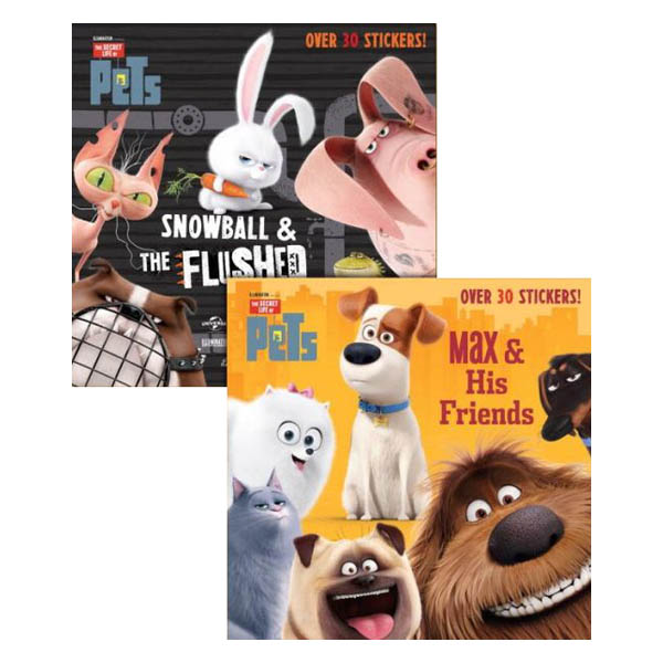 Random House Max and His Friends/Snowball and the Flushed Pets (Secret Life of Pets) (Paperback)