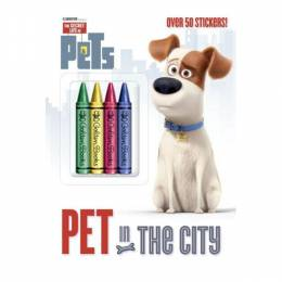Golden Books Pet in the City Coloring and Activity Book (Secret Life of Pets) (Paperback)