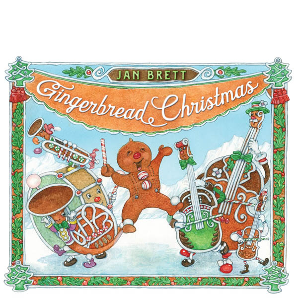 Jan Brett Gingerbread Christmas (Hardcover)