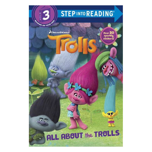 All About the Trolls (DreamWorks Trolls)(Paperback)